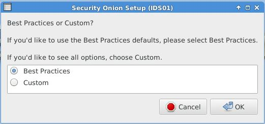 Security Onion - Best Practices